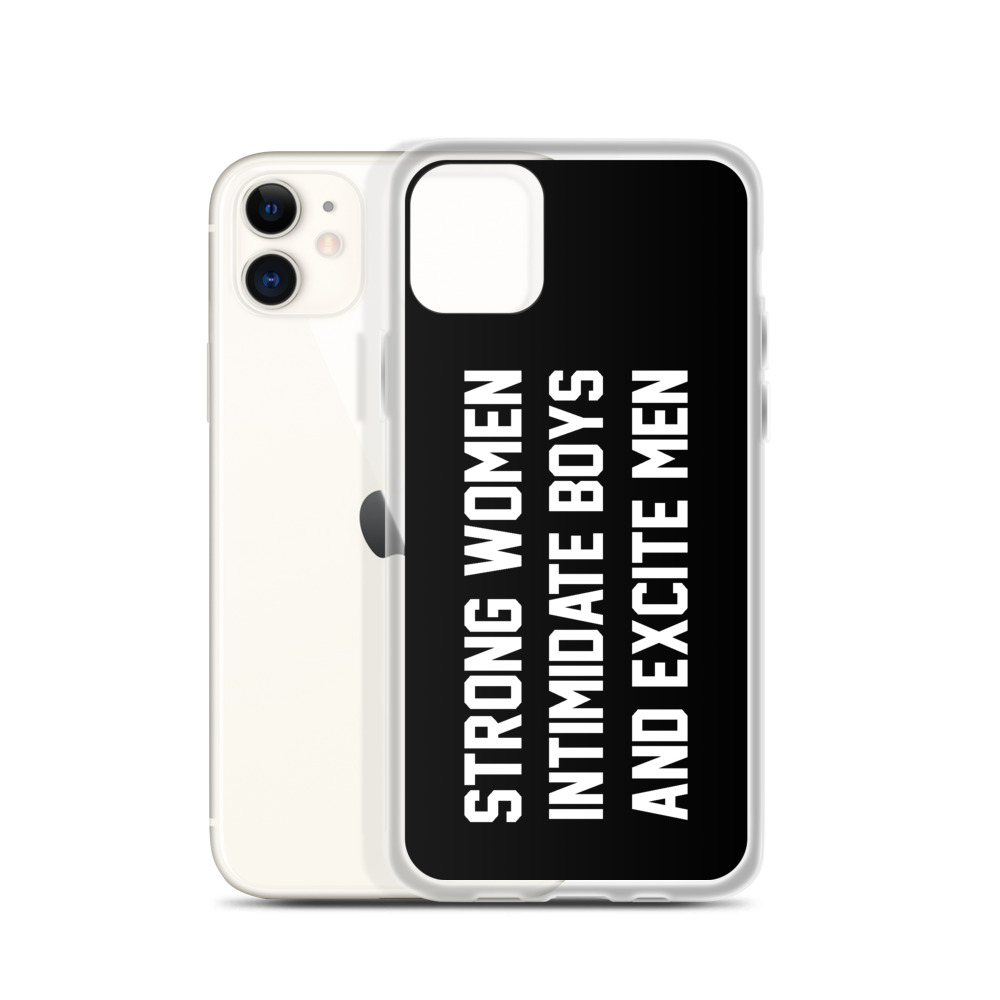 She is apparel Strong Women iPhone Case