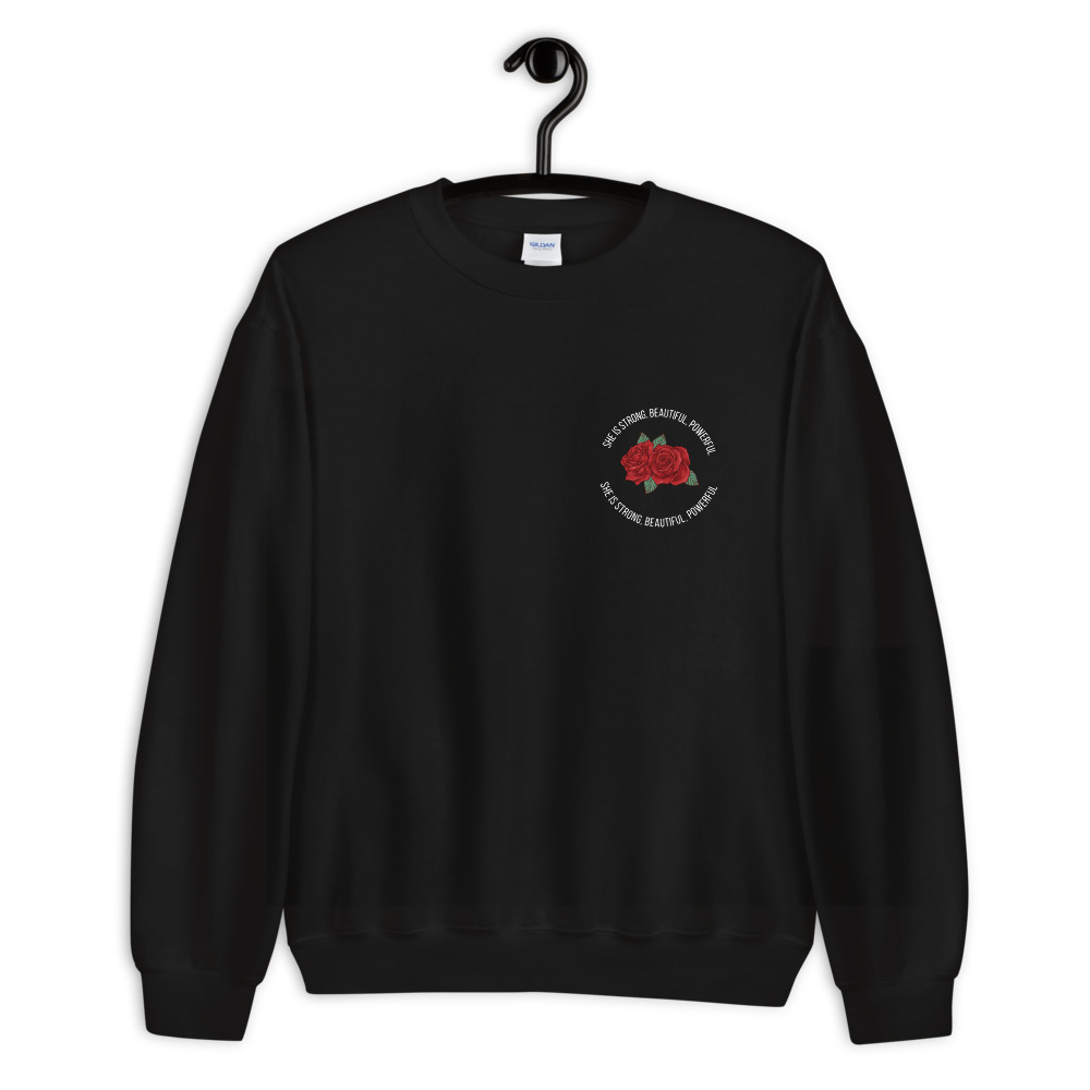 She is Apparel She is strong Sweatshirt