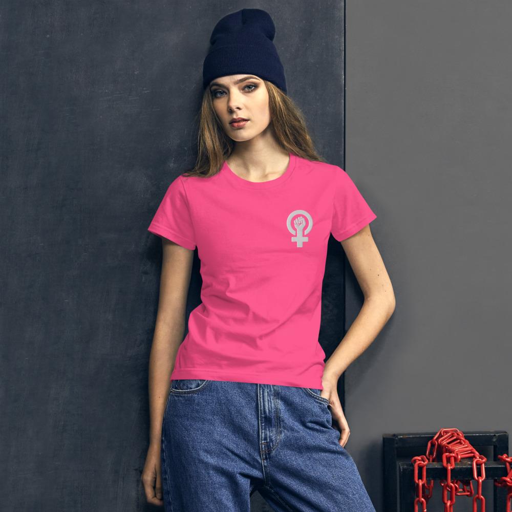 she is apparel Women Power T-Shirt